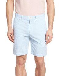 Vineyard Vines | Blue Seersucker Shorts for Men | Lyst