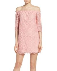 BB Dakota | Pink Halden A-line Dress | Lyst