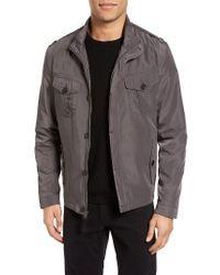 Cole Haan | Gray Packable Field Jacket, Grey for Men | Lyst