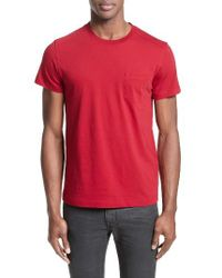 Belstaff - Red New Thom Heritage Jersey T-shirt for Men - Lyst