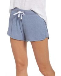 Make + Model - Blue Bring It On Lounge Shorts - Lyst