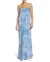 Lilly Pulitzer | Blue Lilly Pulitzer Kendra Maxi Dress | Lyst