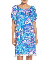 Lilly Pulitzer - Blue Lilly Pulitzer Tilla Dress - Lyst
