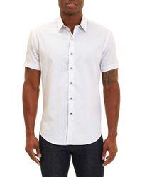 Robert Graham | White Vertigo Classic Fit Sport Shirt for Men | Lyst