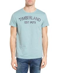 Timberland | Blue Kennebec River 1973 Graphic T-shirt for Men | Lyst