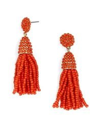 BaubleBar | Red Tratar Drop Earrings | Lyst