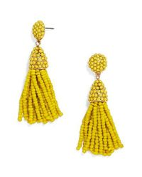 BaubleBar | Yellow Tratar Drop Earrings | Lyst