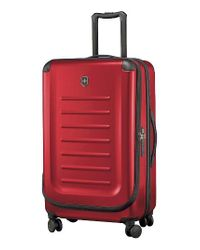 Victorinox   Red Victorinox Swiss Army Spectra 2.0 30 Inch Hard Sided Rolling Travel Suitcase   Lyst