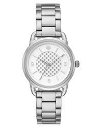 Kate Spade - Metallic Boathouse Bracelet Watch - Lyst