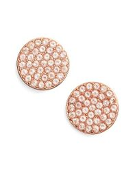 Kate Spade | Pink Shine On Stud Earrings | Lyst