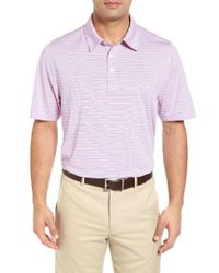 Cutter & Buck | Multicolor Denny Stripe Drytec Moisture Wicking Polo for Men | Lyst
