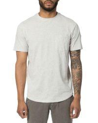 Good Man Brand | White Cotton T-shirt for Men | Lyst