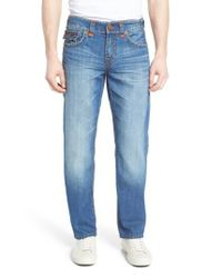 True Religion - Blue Ricky Relaxed Fit Jeans for Men - Lyst