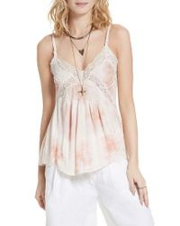 Free People | Natural Mama Jama Camisole | Lyst