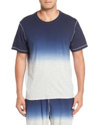 Daniel Buchler | Blue Dip Dye T-shirt for Men | Lyst