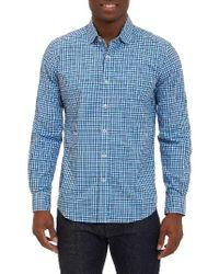 Robert Graham | Blue Colbie Tailored Fit Sport Shirt for Men | Lyst