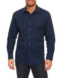 Robert Graham | Blue Kumar Sport Shirt for Men | Lyst