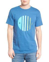 Billabong   Blue Depth Graphic T-shirt for Men   Lyst