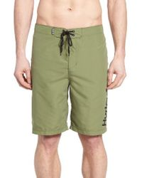 Hurley - Green One & Only 2.0 Board Shorts for Men - Lyst