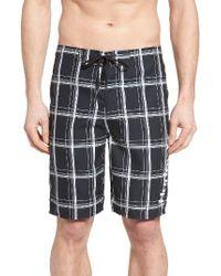 Hurley | Black Puerto Rico 2.0 Board Shorts for Men | Lyst