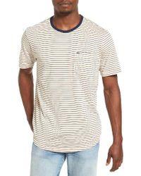 Hurley | White Breakline Dri-fit Pocket T-shirt for Men | Lyst