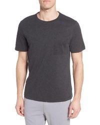 UGG   Black Ugg Benjamin Crewneck T-shirt for Men   Lyst