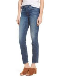 7 For All Mankind | Blue 7 For All Mankind Roxanne Ankle Original Skinny Jeans | Lyst