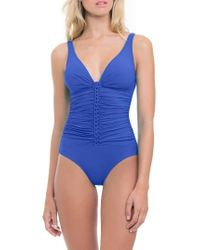 Gottex   Blue Waterfall One-piece Swimsuit   Lyst