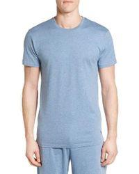 Polo Ralph Lauren   Blue Crewneck Cotton & Modal T-shirt for Men   Lyst