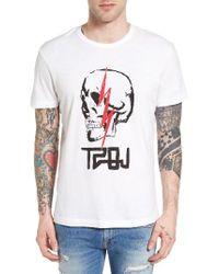 True Religion | White Sinners & Saints Graphic T-shirt for Men | Lyst