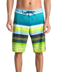 Quiksilver | Blue Everyday Stripe Board Shorts for Men | Lyst
