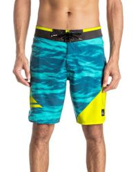 Quiksilver   Blue New Wave Board Shorts for Men   Lyst
