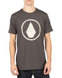 Volcom | Gray Jag T-shirt for Men | Lyst
