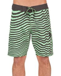 Volcom | Green Mag Vibes Slinger Board Shorts for Men | Lyst