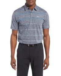 Under Armour | Blue Coolswitch Polo for Men | Lyst