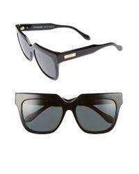 Sonix | Black Avalon 57mm Retro Sunglasses | Lyst
