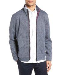 Ted Baker   Blue Majtape Knit Jacket for Men   Lyst