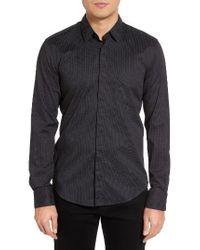 HUGO - Black Boss Reid Dot Sport Shirt for Men - Lyst