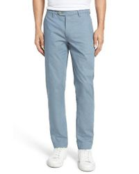 Ted Baker - Blue Shiresy Slim Fit Trousers for Men - Lyst