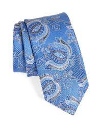 John W. Nordstrom   Blue John W. Nordstrom Paisley Silk Tie for Men   Lyst