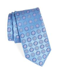 John W. Nordstrom | Blue John W. Nordstrom Medallion Silk Tie for Men | Lyst