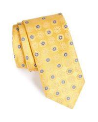 John W. Nordstrom | Yellow John W. Nordstrom Medallion Silk Tie for Men | Lyst