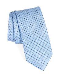 John W. Nordstrom   Blue John W. Nordstrom Geometric Silk Tie for Men   Lyst