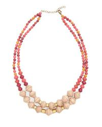 31 Bits | Multicolor Oasis Paper Bead Necklace | Lyst