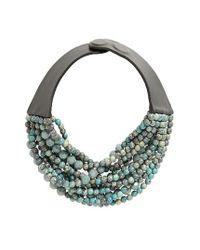 Fairchild Baldwin | Multicolor Farichild Baldwin Marcella Beaded Collar Necklace | Lyst