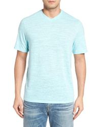 Tommy Bahama | Blue Sunday's Best V-neck T-shirt for Men | Lyst