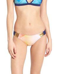 Roxy | Multicolor Pop Surf Mini Bikini Bottoms | Lyst