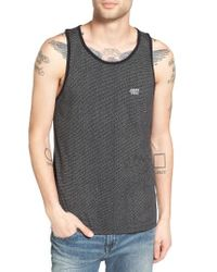Obey - Black Alder Print Tank for Men - Lyst
