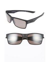 Oakley - Black Twoface 61mm Polarized Sunglasses - Lyst