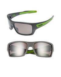 bf1366375d Lyst - Oakley Turbine Rotor 65mm Polarized Sunglasses in Gray for Men